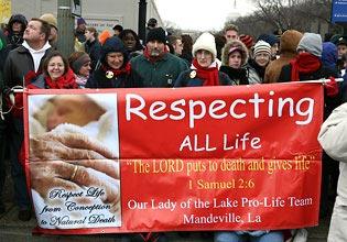 Vigil for Life Lexington