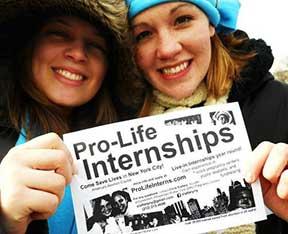 Summer Pro Life Internship Program