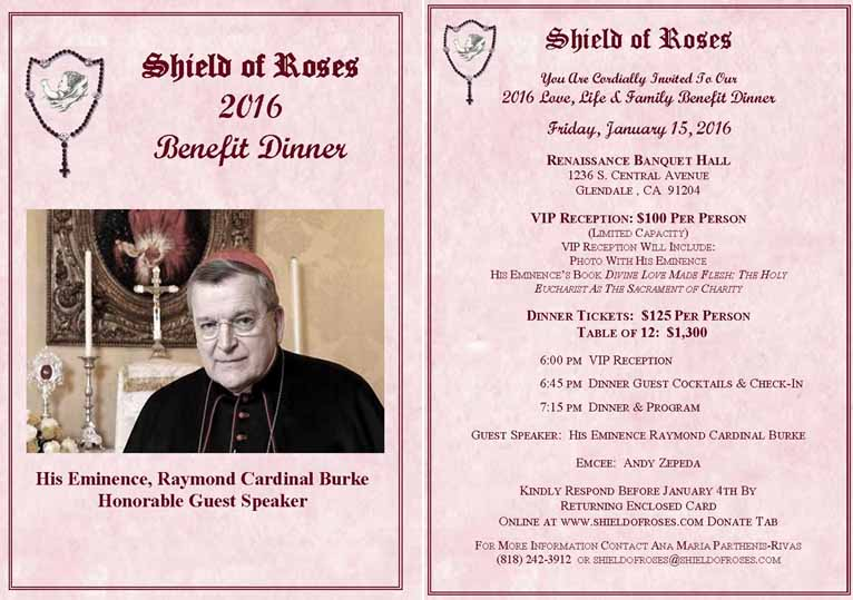 Shield of Roses Annual Benefit Dinner