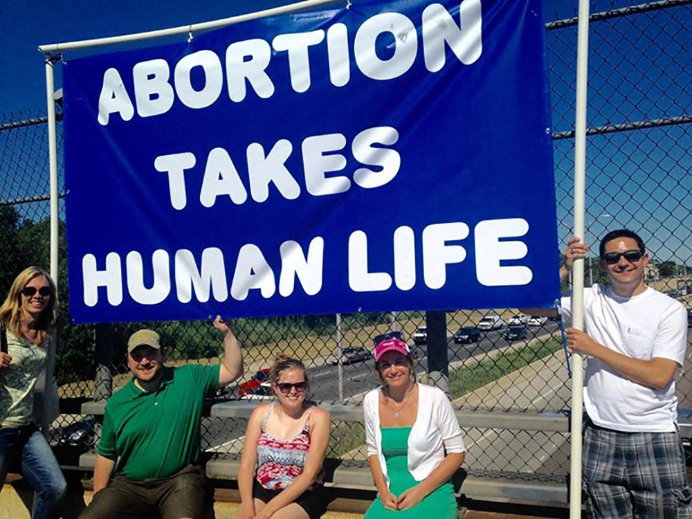 Pro-life Bridge: Jefferson Park 2/15 7am to 9am